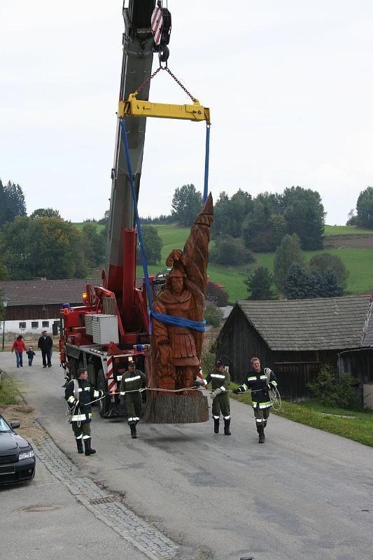 Hl. Florian Aufstellen