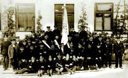 Fahnenweihe 1925