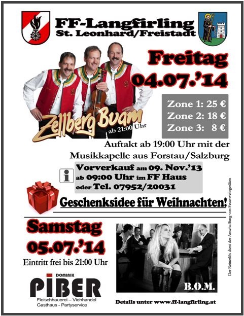 Vorverkauf Hüttenfest 2014