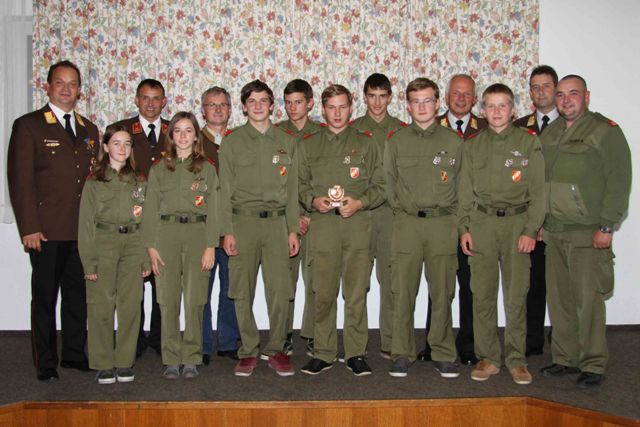 2014-10-17 Ehrung Jugendgruppe
